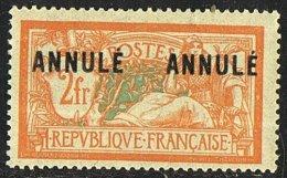 MERSON 2 Franc  «ANNULÉ   ANNULÉ»  YV 145-CI 1   **