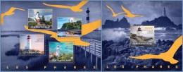 ca14517ab Central African 2014 Lighthouses 2 s/s Bird