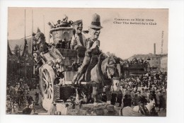 CARNAVAL DE NICE  1909 - Char The Rementa's Club -  (3) - Carnival