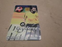 MEXICO - nice phonecard football Coca-Cola