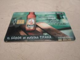 MEXICO - nice phonecard beer