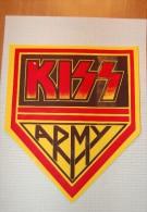 Vintage 70's KISS Decal Sticker - Autocollants