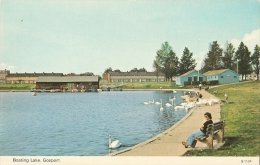 GB - Ha - Boating Lake, Gosport  - Dennis Productions N° G. 1104 - [cygne - Swan - Schwan) - Angleterre