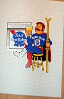 Vintage 70's PABST Beer Decal Sticker - Autocollants