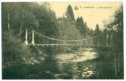 LAVACHERIE. 5. Le Pont Suspendu. - Sainte-Ode