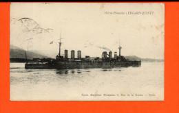 Bâteau -Marine Française : Edgard-Quinet - Guerre