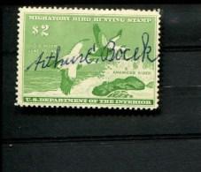 289126623 USA GEBRUIKT USED GEBRAUCHT OBLITERE SCOTT RW24 AMERICAN EIDERS DUCKS BIRDS - Duck Stamps