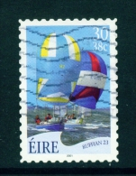 IRELAND  -  2001  Yachts  30p  Self Adhesive  Used As Scan - 1949-... Repubblica D'Irlanda