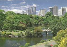 JAPAN  NIPPON  GIAPPONE  TOKIO   Shinjuku Imperial Garden - Tokio