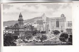 SOUTH AFRICA / SÜDAFRIKA, Cape Town / Kapstadt, Parade & City Hall, 1953 - Südafrika
