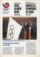 SOUTH KOREA 1985 - NEWSLETTER OF THE 24th OLYMPIC GAMES SEOUL 1988 - VOL. 2 # 3 - AUGUST 1985 - Bücher