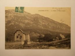 Carte Postale - AIGUEBELETTE (73) - Le Château Et Mont Lepine (1674) - France