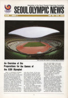 SOUTH KOREA 1984 - SEOUL OLYMPIC NEWS - NEWSLETTER OF THE 24th OLYMPIC GAMES SEOUL 1988 - VOL. 1 # 3 - JUNE 1984 - Bücher