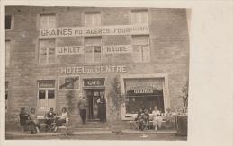 Winenne - H�tel du Centre - Caf� - Articles Chasse, Graines (anim�e, rue des Ardennes?voir trou de punaise