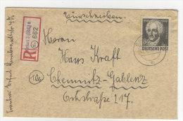 SBZ Michel No. 238 auf R - Brief