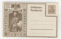 Deutsches Reich Privat Ganzsache 3 Pf ungebraucht - Jubil�ums Postkarte 1888 - 1913