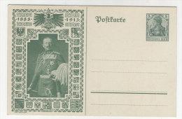Deutsches Reich Privat Ganzsache 5 Pf ungebraucht - Jubil�ums Postkarte 1888 - 1913