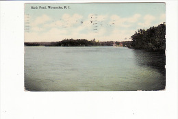 Harris Pond, Woonsocket, Rhode Island - Etats-Unis