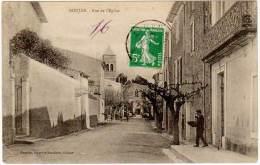 Roujan - Rue De L'église ( Facteur, édit. Granier ) - France