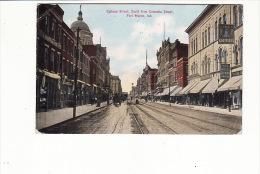 Calhoun Street, South From Columbia Street, Fort Wayne , Indiana - Etats-Unis