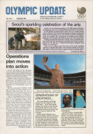 SOUTH KOREA 1988 - OLYMPIC UPDATE - NEWSLETTER OF THE 24th OLYMPIC GAMES SEOUL 1988 - VOL. 2 # 2 - MARCH / APRIL 1988 - Boeken