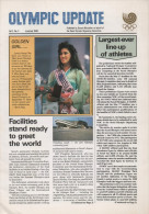 SOUTH KOREA 1988 - OLYMPIC UPDATE - NEWSLETTER OF THE 24th OLYMPIC GAMES SEOUL 1988 - VOL. 2 # 3 - JUNE / JULY 1988 - Bücher