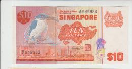 Singapore 10 Dollar 1976 Pick 11 UNC - Singapore
