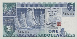 Singapore 1 Dollar 1987 Pick 18a UNC - Singapour