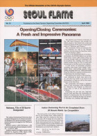 SOUTH KOREA 1988 - SEOUL FLAME - OFFICIAL NEWSLETTER OF THE 24th OLYMPIC GAMES SEOUL 1988 - # 25 - APRIL 1988 - Bücher