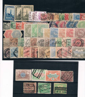 Belgica. Conjunto De 67 Sellos Nuevos O Usados De Expres, Servicio, Taxas, Telegrefos - Postage Due