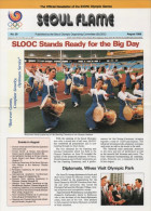SOUTH KOREA 1988 - SEOUL FLAME - OFFICIAL NEWSLETTER OF THE 24th OLYMPIC GAMES SEOUL 1988 - # 29 - AUGUST 1988 - Bücher