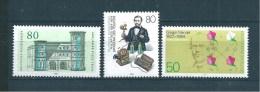 Allemagne  Fédérale  Timbres   De 1984  N° 1029  A  1031  Neufs - Nuovi