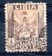 1924-40, Allegorie De Victoire,  Libye Colonie Italienne,  YT 53a  , Oblitéré , Lot 42666 - Libya