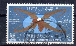 1965, Libye -  4e Foire De Fripoli, YT  263, Oblitéré, Lot 42705 - Libië