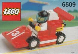 Lego 6509 Voiture de course avec plan 100 % Complet voir scan