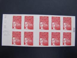 ERREUR DE DATE SUR CARNET  LUQUET  N°3085-C4   Daté Du 28.11.98 - Carnets