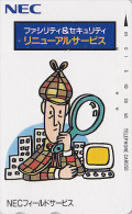 Télécarte JAPON / 110-011 - Cinema - DETECTIVE SHERLOCK HOLMES - JAPAN Movie Phonecard - Kino Telefonkarte - 4089 - Cinema