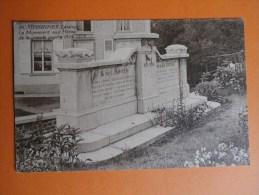 ECAUSSINNES-LALAING-Le Monument Aux Héros De La Grande Guerre 1914-1918 - Ecaussinnes