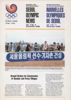 SOUTH KOREA 1986 - NEWSLETTER OF THE 24th OLYMPIC GAMES SEOUL 1988 - VOL. 3 # 4 - DECEMBER 1986 - Bücher