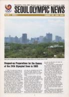 SOUTH KOREA 1985 - SEOUL OLYMPIC NEWS - NEWSLETTER OF THE 24th OLYMPIC GAMES SEOUL 1988 - VOL. 2 # 1 - FEBRUARY 1985 - Boeken