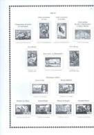 Intérieur Album France Y&T FUTURA FS 1969 à 1993 Neuf + 1996 Et 1998 - Vordruckblätter
