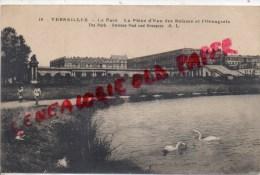 78 - VERSAILLES - LE PARC  LA PIECE D' EAU DES SUISSES ET L' ORANGERIE - Versailles
