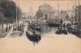 Briefkaart Rotterdam Delftsche Poort - Rotterdam
