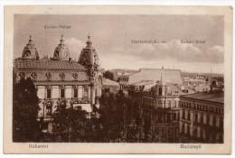 Roumanie-- BUCAREST--1919--Kaiser Palast-Fürstenhaof Kaffee N°387 éd Bahnof.....---carte Pas Très Courante - Roumanie