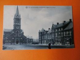 ECAUSSINNES-CARRIERES-Eglise Et La Place. - Ecaussinnes