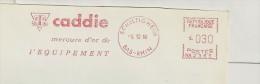 """Commerce, Matériel, """"Caddy"""", Bas Rhin, Schiltigheim - EMA Secap - Enveloppe Entière   (P057) - Berufe"""