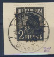 SBZ Michel No. 166 X gestempelt used Bezirk 41 / Altpr�fung
