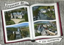 CPSM 41 SOUVENIR DE ST JEAN FROIDMENTEL   Grand Format 15 X 10,5 - Other Municipalities