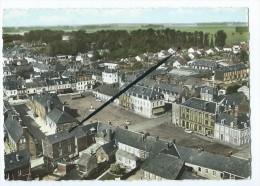CPM - Fauville En Caux - Place De La Mairie Et Vue Générale - Sonstige Gemeinden