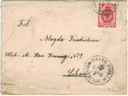 LETTONIA - LETTLAND - Latvia - Latvija - 1900 - Viaggiata Per Liban - Lettland